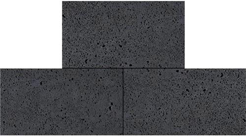Oud Hollandse tegel 40x80x5cm carbon