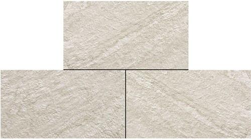 Ceramica Lastra 45x90x2cm Brave Gypsum wit