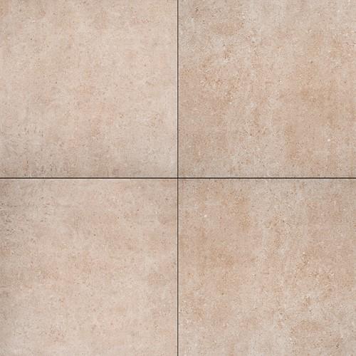Cera4line Mento 60x60x4cm Terrazza Marrone  beigebruin