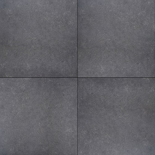 Cera4line Mento 60x60x4cm Struttura Nero zwart/blauw
