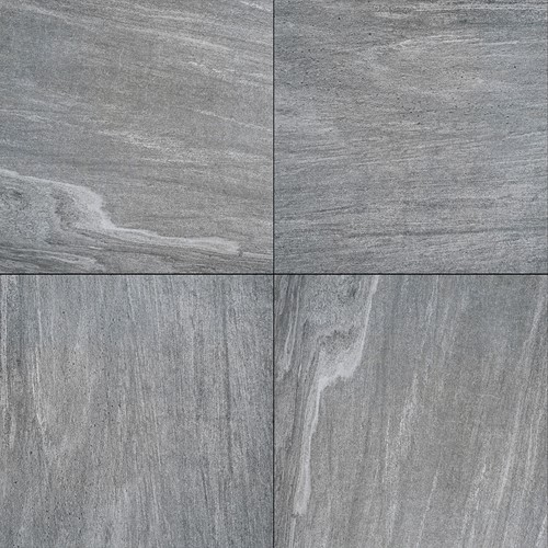 Cera1line 60x60x1cm Cuarcita Plata zilvergrijs