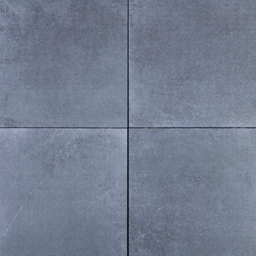 Geoceramica 60x60x4cm Roccia Carbon donkergrijs