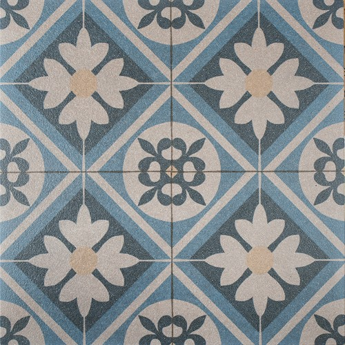Designo 60x60x3cm Mosaic Blue blauw
