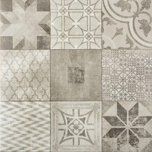 Designo 60x60x3cm Mosaic Grey grijs