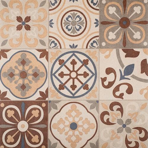 Designo 60x60x3cm Mosaic Terra
