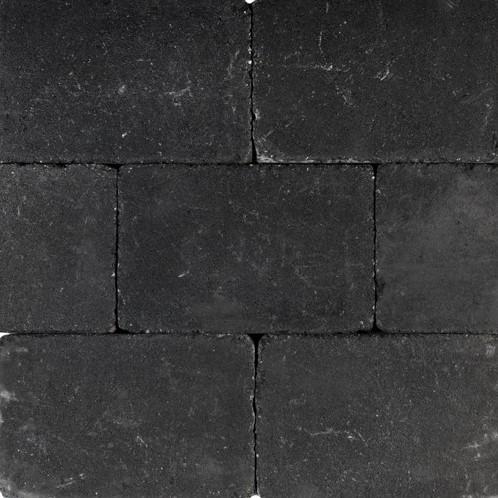 Tambourisés Brique 20x30x5cm zwart