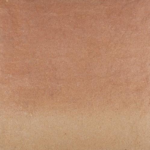 Straccata 60x60x6cm Noura crème/terra