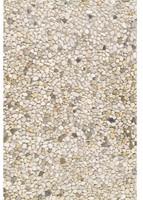 Berggrindtegel 40x60x5cm wit/geel