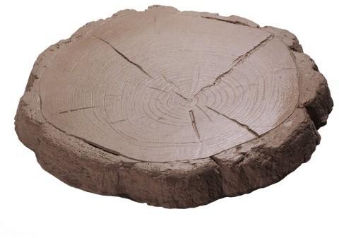 Staptegel Boomstam bruin Ø45x4,5cm