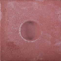 Knikkerpottegel 30x30x6cm  rood