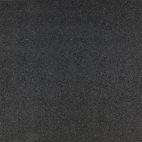 Rubbertegel 50x50x2,5cm zwart