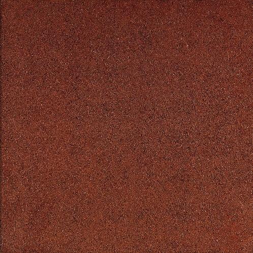 Rubbertegel 50x50x3cm rood