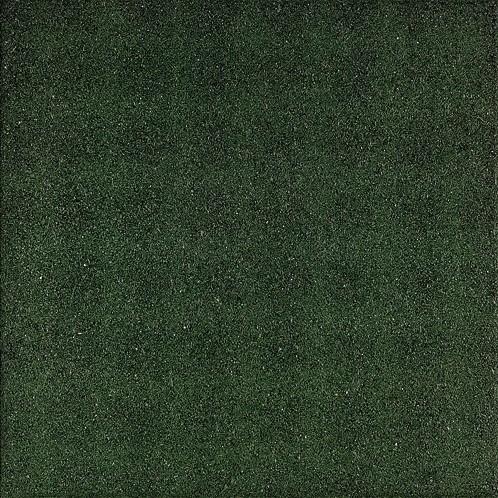 Rubbertegel 50x50x4,5cm groen