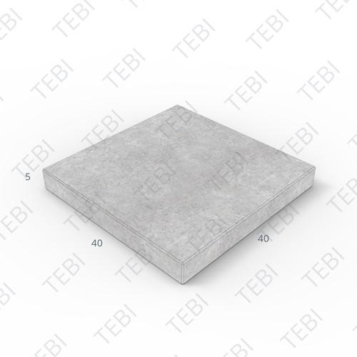 Tegel KOMO 40x40x5cm grijs