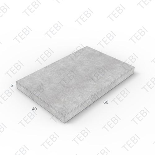 Tegel KOMO 40x60x5cm grijs licht