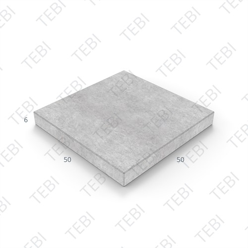 Tegel KOMO 50x50x6cm grijs