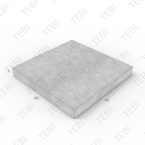 Tegel KOMO 60x60x7cm grijs