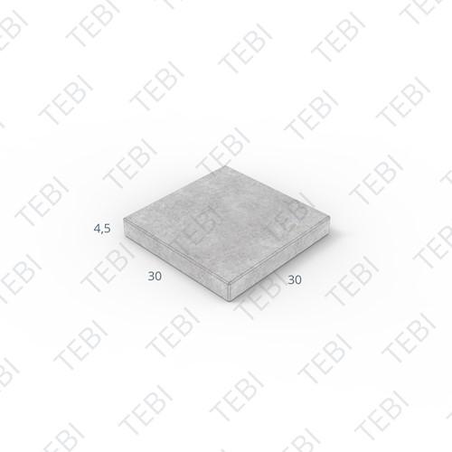 Tegel KOMO 30x30x4,5cm zwart MP
