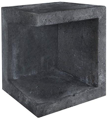 U-Element Hoek 40x40x50cm zwart
