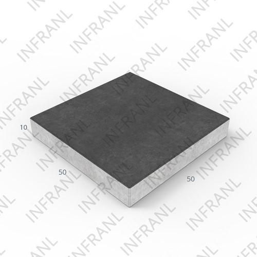 Verkeerstegel 50x10x10cm  zwart