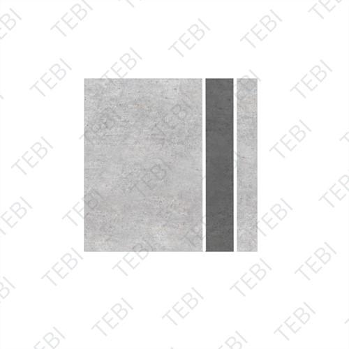 Watertegel 30x30x5cm grijs Type 1