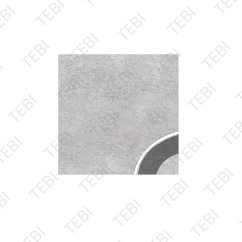 Watertegel 30x30x5cm grijs Type 2