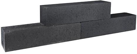 Palinoblock strak 60x15x15cm antraciet