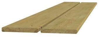 Scandinavisch vuren geschaafde plank 1,8x14,5x300cm (W06406)
