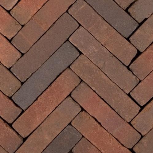 Art Bricks waalformaat 5x20x6,5cm Bosch rood/paars