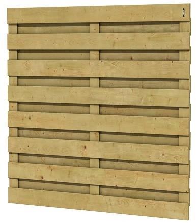 Jumboscherm geschaafd vuren 15-planks 15mm 180x180cm recht (A306223)