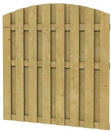 Jumboscherm geschaafd vuren 15-planks 15mm 180x170/180cm toog verticaal (W306207)