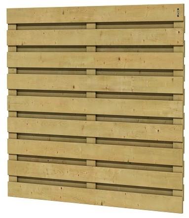 Jumboscherm geschaafd vuren 17-planks 15mm 180x180cm recht (A306304)