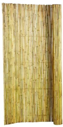 Bamboescherm op rol 180x180cm gelakt (W17080)