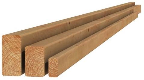 Douglas geschaafde regel 4,5x7,0x400cm onbehandeld (1009297)