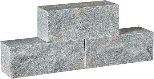 Graniet Dark Grey donkergrijs 30x12x12cm