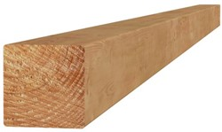Douglas geschaafde paal 12x12x300cm groen geïmpr.