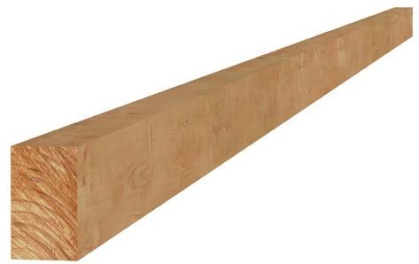 Douglas fijnbezaagde regel 4,5x7,5x400cm groen geïmpr. (W44430)