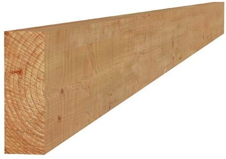 Douglas fijnbezaagde gording 5,0x15,0x400cm onbehandeld (1017078)