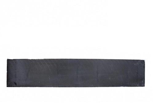 Betonplaat glad 3,5x25x184cm antraciet ongecoat (W13215)