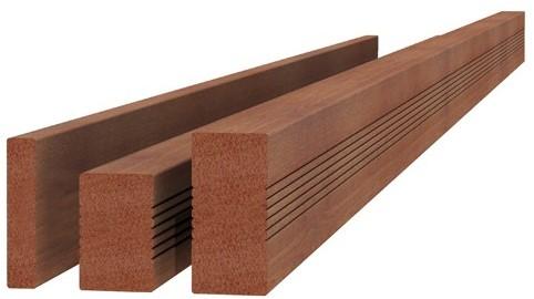 Hardhouten plank geschaafd 1,6x9,0x180cm (W14010)