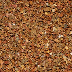 Grauwacke Split gewassen bruin/rood 8/16mm