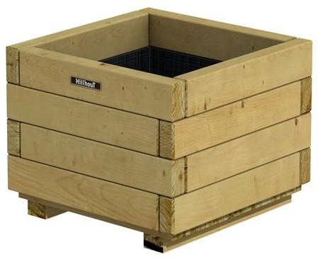 Bloembak vierkant 32x40x40cm (W636363)