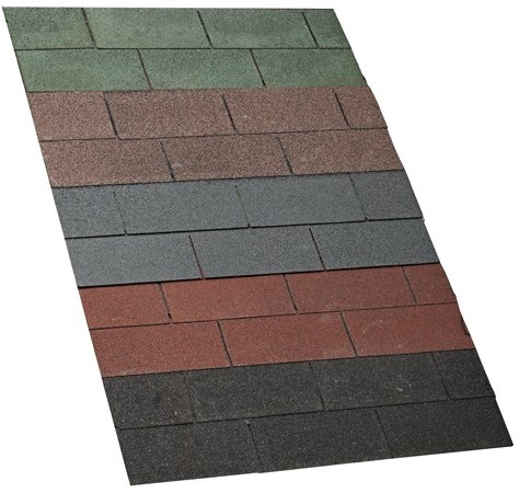 Dakshingles per pak a 3 m2, zwart (693357)