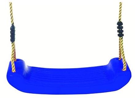 Schommelzit kunststof, blauw (W12537)