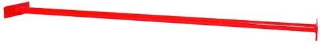 Duikelstang metaal 125cm rood (W12539)