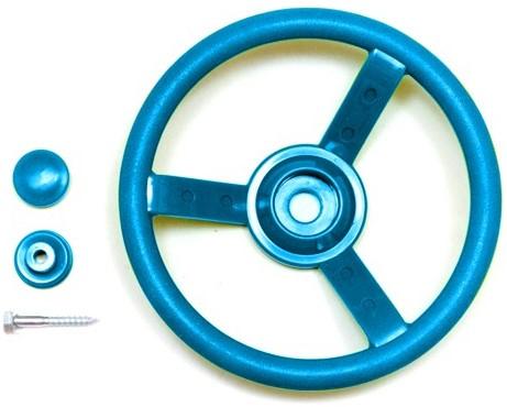 Stuurwiel kunststof, blauw (W12597)