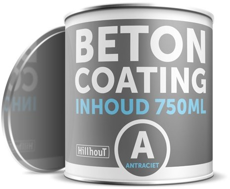 Coating betonverf 750 ml, antraciet RAL7016 (13255)
