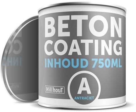 Coating betonverf 750 ml, antraciet RAL7016