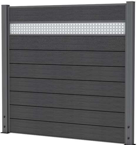 Aluminium paneel 2,1x19,5x180cm (W23575)