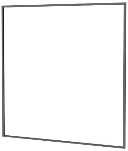 Aluminium profielset tb.v. composiet scherm 181,5x181,5cm antraciet (23590)